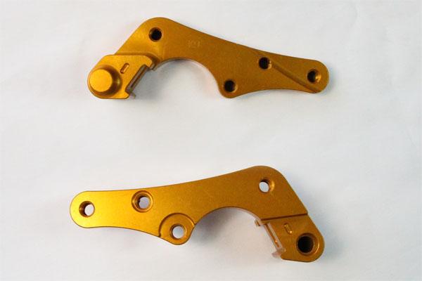 Relocation Bracket for Oversize Brake Rotor