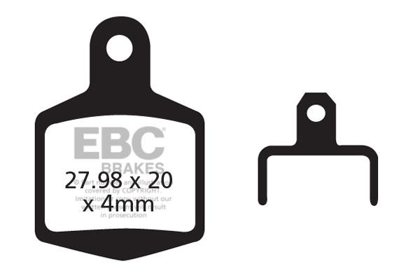 EBC Brakes X-Country Cycle Brake Pads