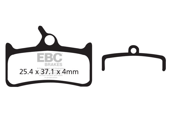 EBC Brakes Red Downhill Cycle Brake Pads