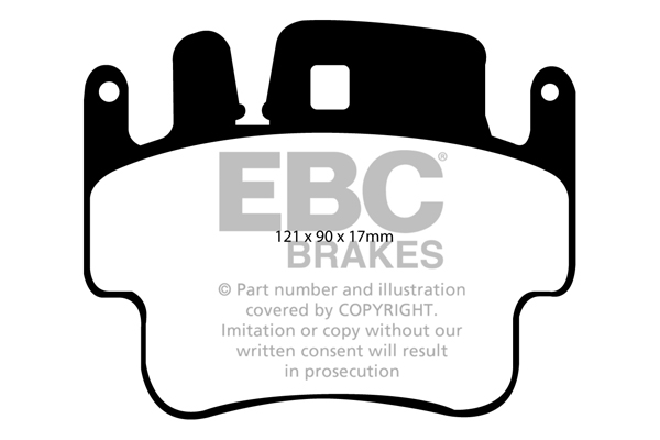 EBC DP41514R YELLOWSTUFF ULTIMATE RACE BRAKE PADS FRONT or REAR