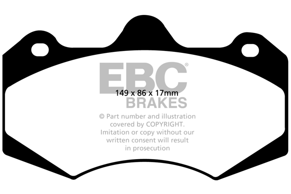EBC Racing RP-1™ Track and Race Brake Pads