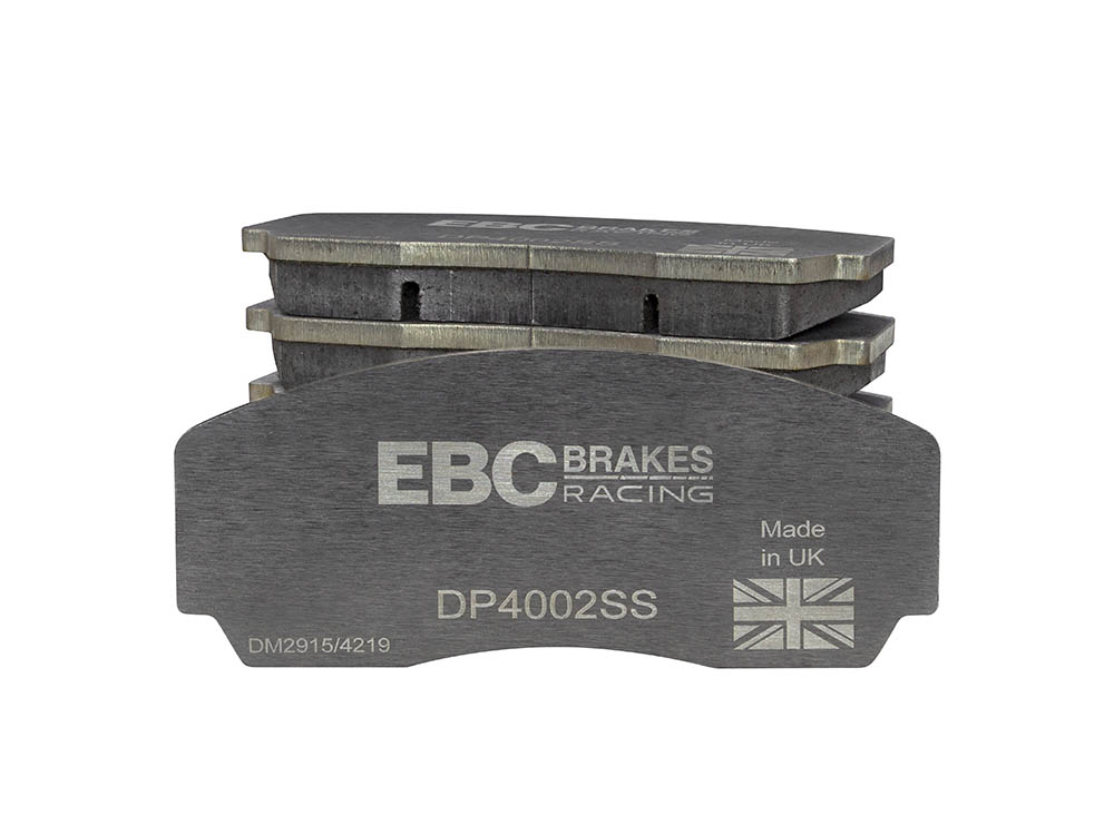 Replacement Stainless Steel Plate Yellowstuff Street and Track Brake Pads for EBC Calipers
