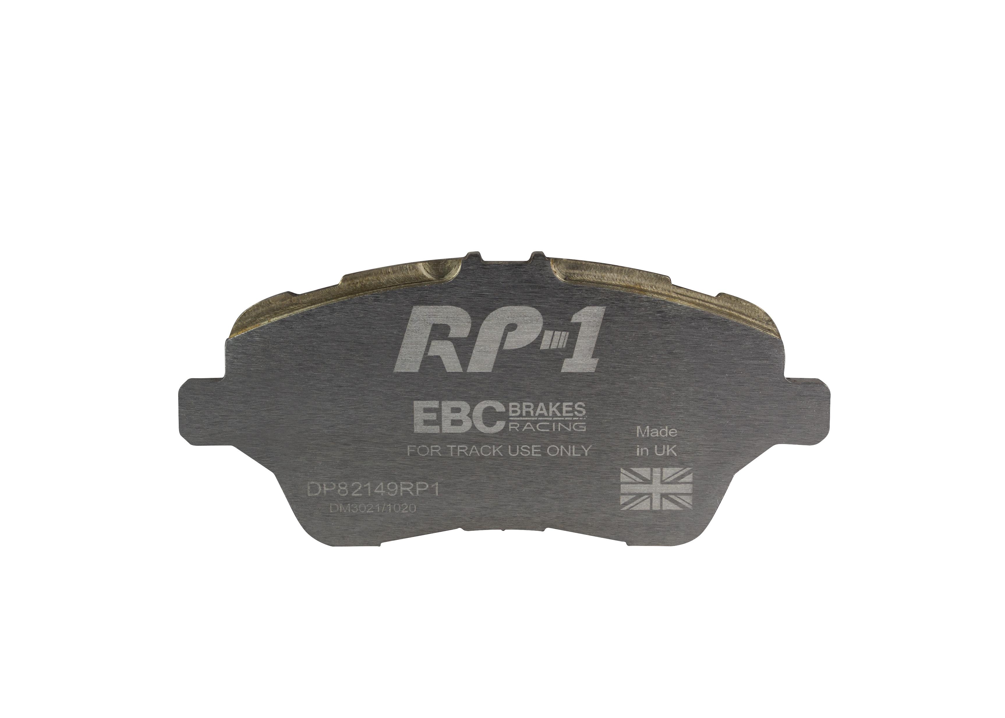 EBC USR Slotted Rear Brake Discs For Ford Fiesta Mk7 ST180 1.6 Turbo USR280