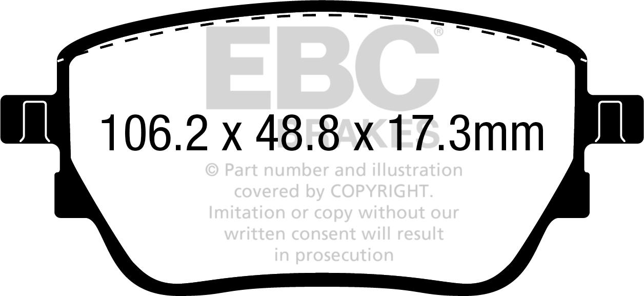 EBC Brakes RK7555 RK Series Premium OE Replacement Brake Rotor