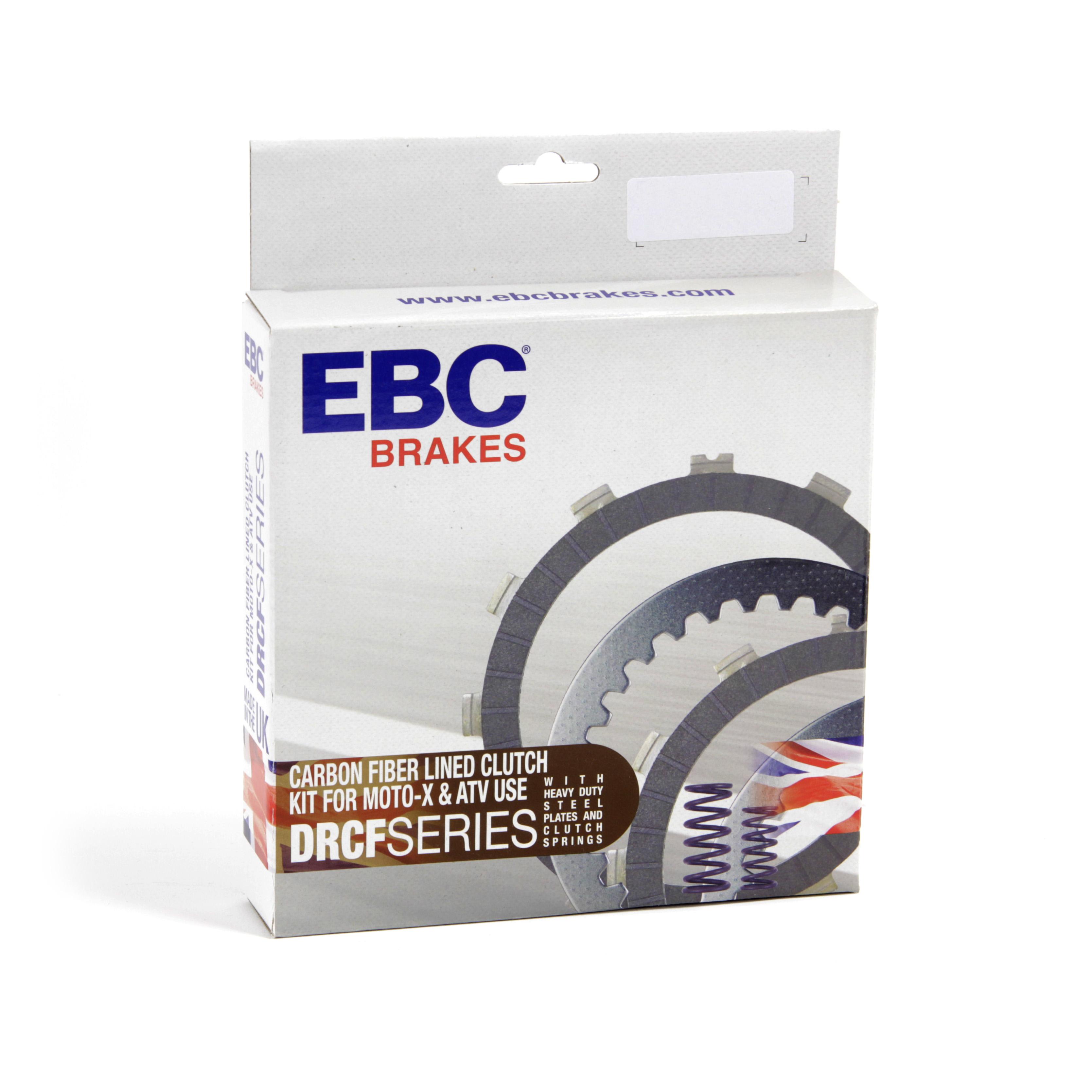 EBC Brakes DRCF Carbon Fibre Lined Clutch Rebuild Kit