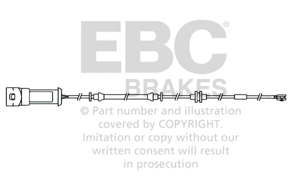 EBC Replacement Brake Sensor Wear Lead