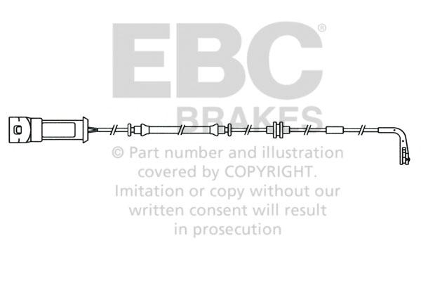 EBC Replacement Brake Sensor Wear Lead