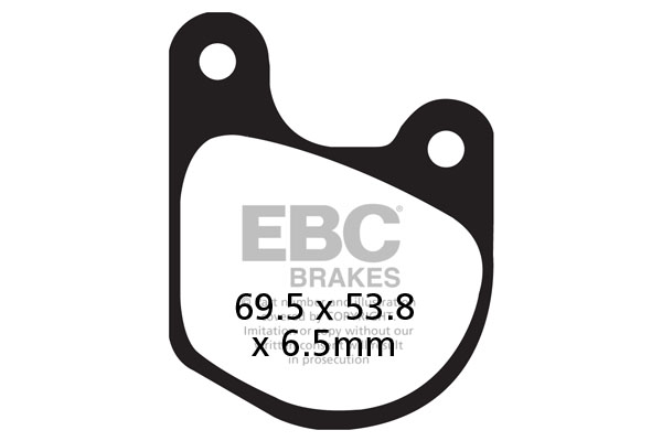 EBC Brakes British Made Organic FA Series Brake Pads