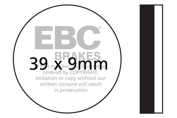 LAMBRETTA 175 TV II - EBC Brakes Discs, Pads and Shoes