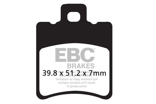 EBC Brakes SFAHH Series Sintered Scooter Pads (2pcs)