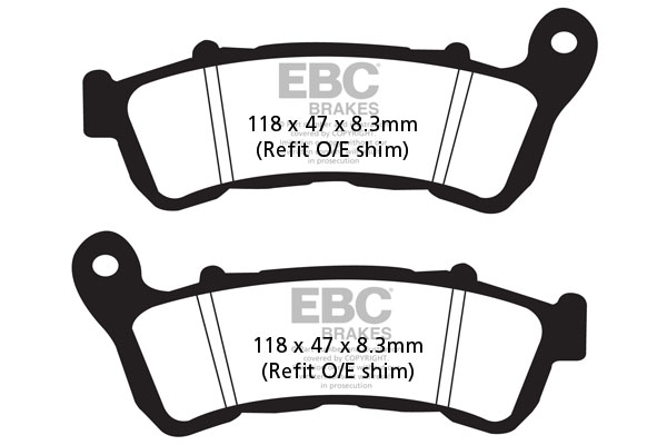EBC Brakes® SFA Series Scooter Organic Pads