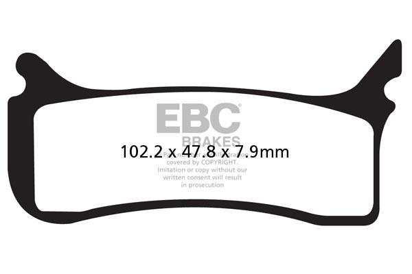 EBC Brakes® MXS Off Road Race Sintered Pads
