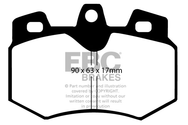 EBC Brakes Replacement Kart Brake Pad Set