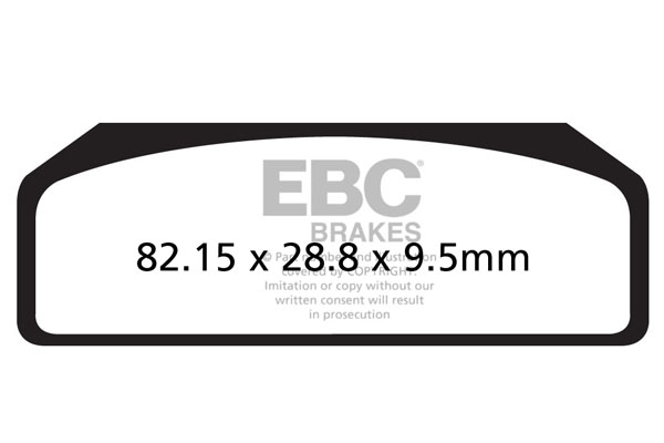 EBC Brakes GPFAX Sintered Road Brake Pads
