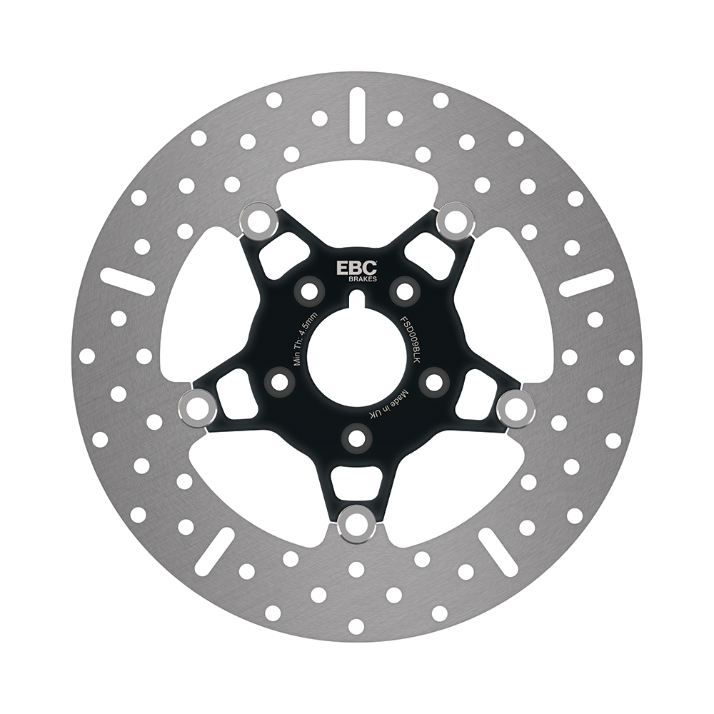 EBC Brakes FSD Custom Touring Brake Discs - Black Chromed Centre Hub