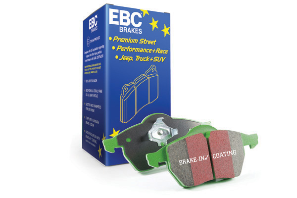 EBC Greenstuff 2000 Series Sport Brake Pad Set