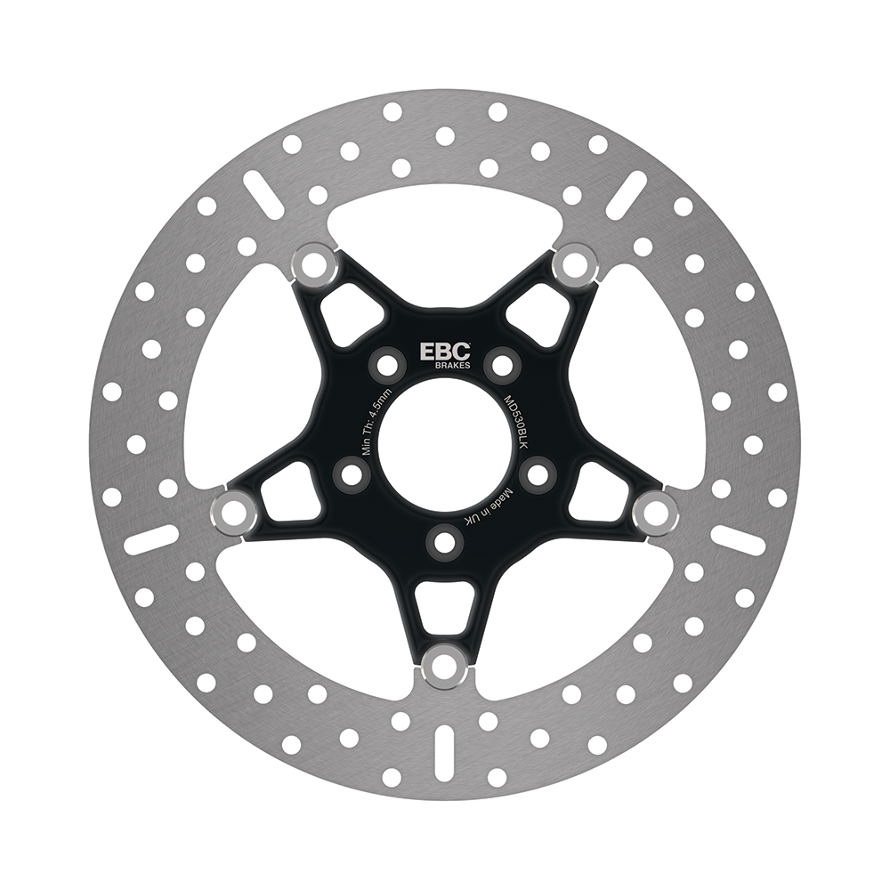 EBC Stainless Steel Disc with Black Centre Hub