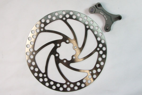 EBC Brakes Oversize MTB Disc With Bracket