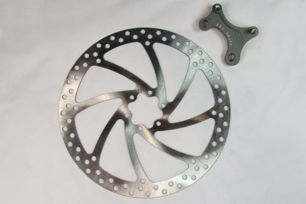 EBC Brakes Oversize Bicycle Disc With Bracket