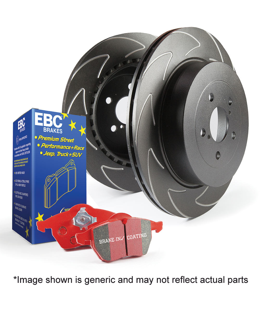 EBC Brakes Pad and Disc Kit