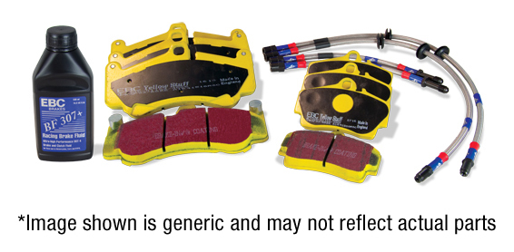 Performance Pack Pad & Line Kit with Yellowstuff Pads