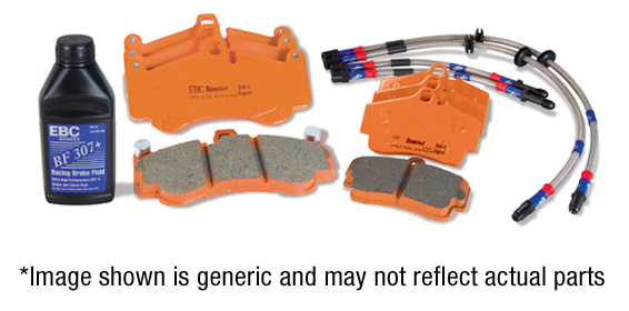 EBC ORANGESTUFF BRAKE PADS REAR DP91518 TRACK, RACE
