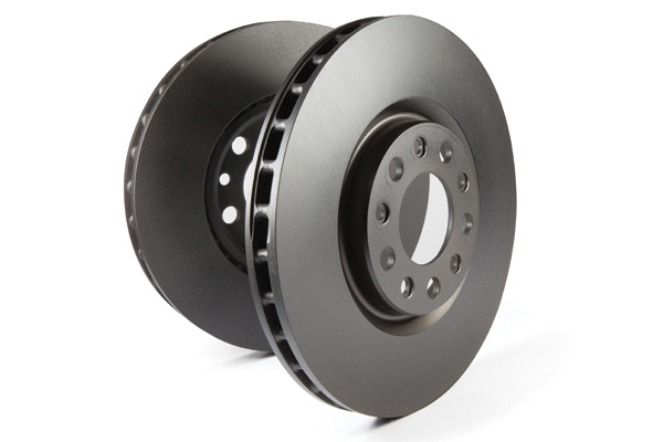 EBC Brakes Non Slotted OE Style Premium Rotors (Pair)