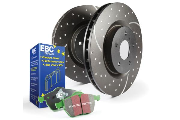 EBC Brakes Pad and Rotor Kit (DP23075 & GD7776)