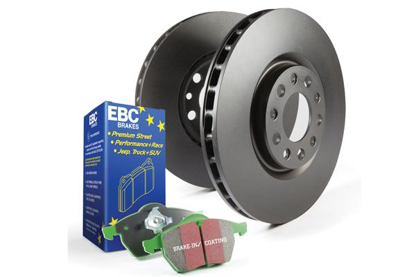 EBC Brakes Pad and Rotor Kit (DP23075 & RK7776)