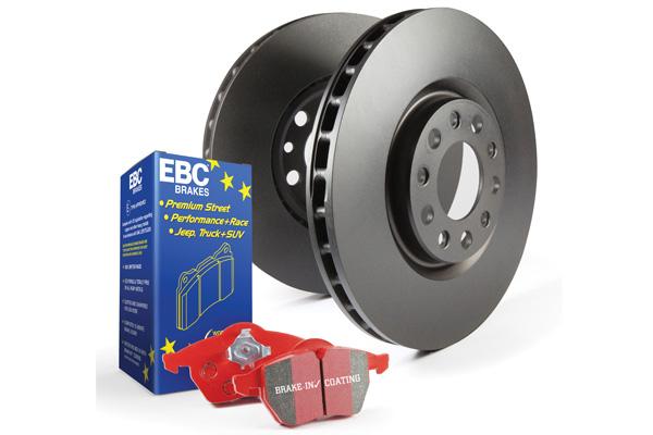 EBC Brakes Pad and Rotor Kit (DP33075C & RK7776)