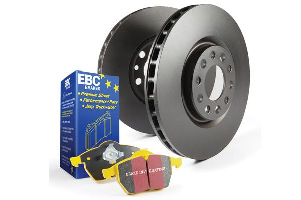 EBC Brakes Pad and Rotor Kit (DP43075R & RK7776)