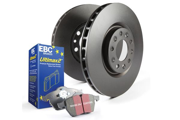 EBC Brakes Pad and Rotor Kit (UD1912 & RK7776)