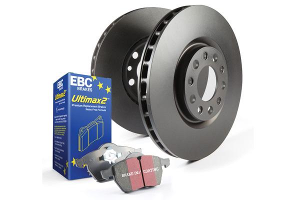 EBC Brakes Full Vehicle Pad and Rotor Kit (UD1912 & RK7776 & UD1544 & RK7778)