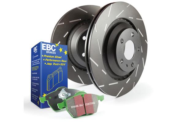 EBC Brakes Pad and Rotor Kit (DP23075 & USR7776)