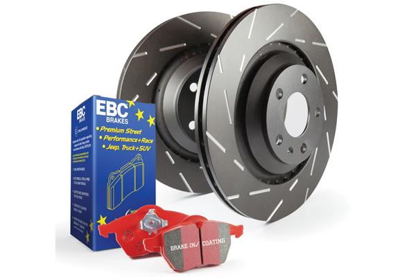 EBC Brakes Pad and Rotor Kit (DP33075C & USR7776)