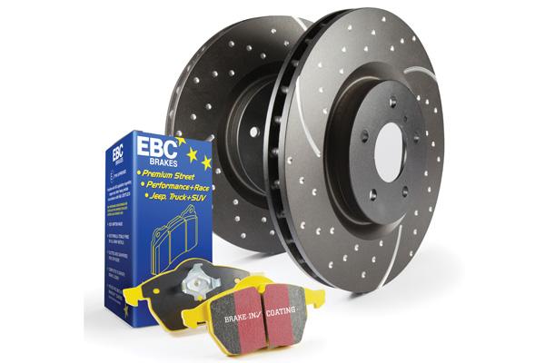EBC Brakes Pad and Rotor Kit (DP43075R & GD7776)