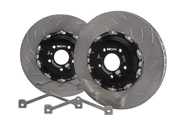 EBC Racing 2-Piece Floating Brake Discs (Pair) - OVERSIZE CONVERSION