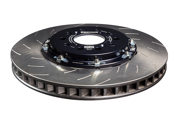 EBC Racing 2-Piece Floating Brake Discs (Pair)