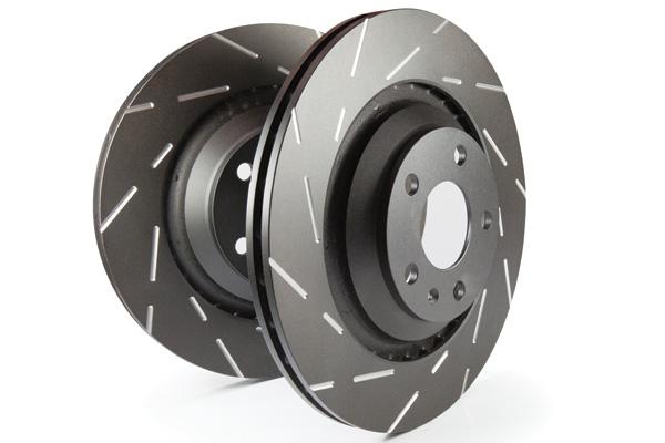 EBC Brakes USR Fine Slotted Rotors (Pair)