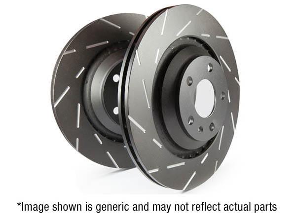 EBC USR Series Fine Slotted Discs (Pair)