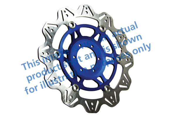 EBC Brakes® Vee-Series Sport Bike Disc (Blue Hub)