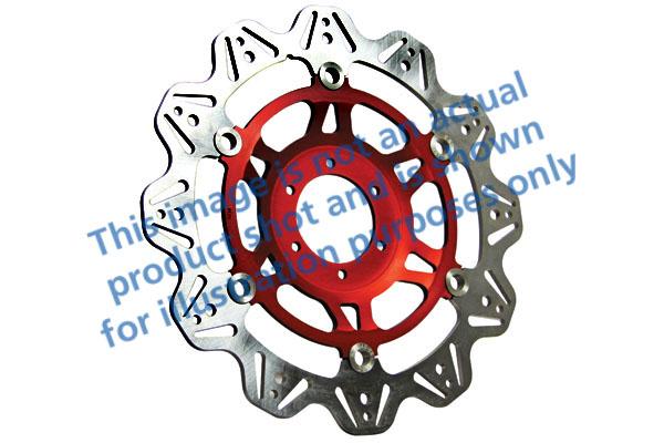 EBC Brakes® Vee-Series Sport Bike Disc (Red Hub)