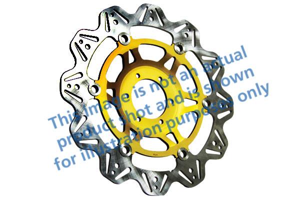 EBC Brakes® Vee-Series Sport Bike Disc (Gold Hub)