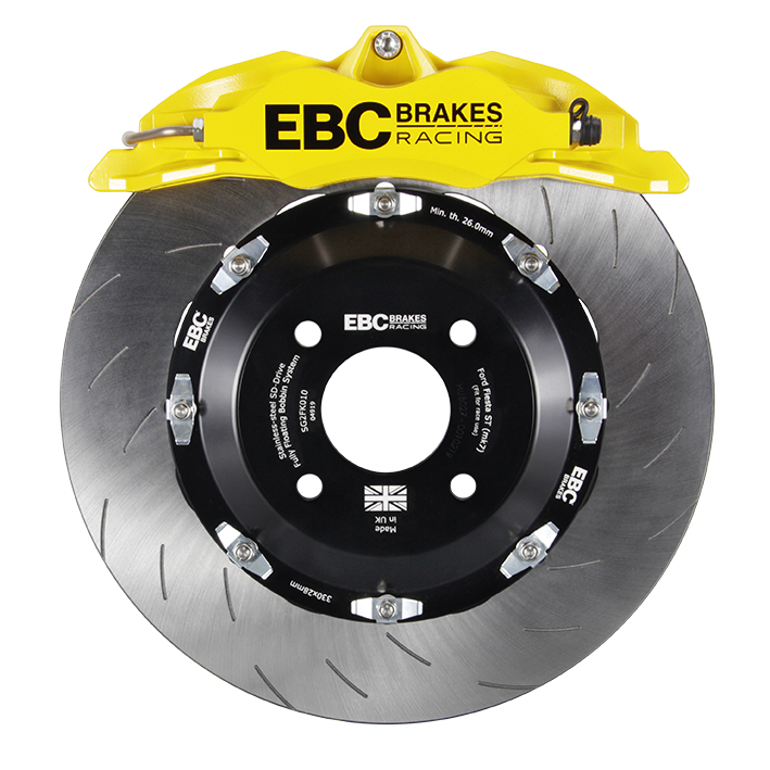 EBC Balanced Big Brake Kit (YELLOW) 355mm Disc