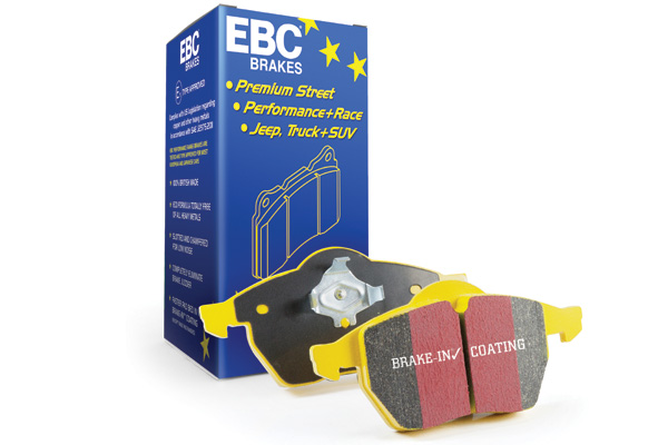 EBC Yellowstuff 4000 Series Street and Track Brake Pad Set